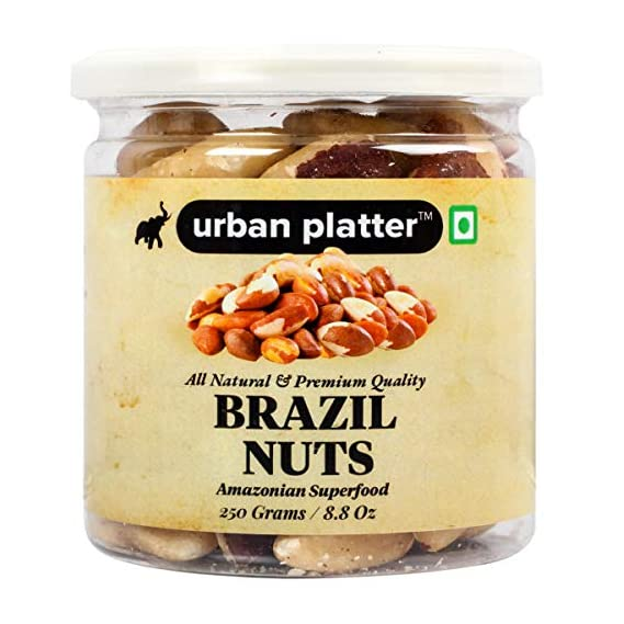 Urban Platter Brazil Nuts (Amazon Nuts), 250g