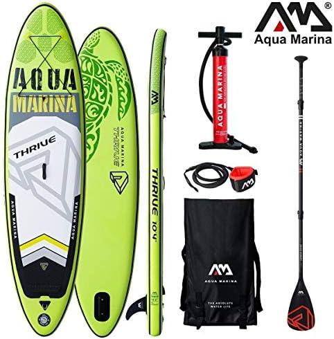 Aqua Marina Thrive - Tabla de Surf Hinchable para Paddle Surf (315 ...