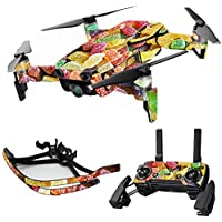 MightySkins Skin for DJI Mavic Air Drone - Sour Candy | Max Combo Protective, Durable, and Unique Vinyl Decal wrap cover | Easy To Apply, Remove, and Change Styles | Made in the USA