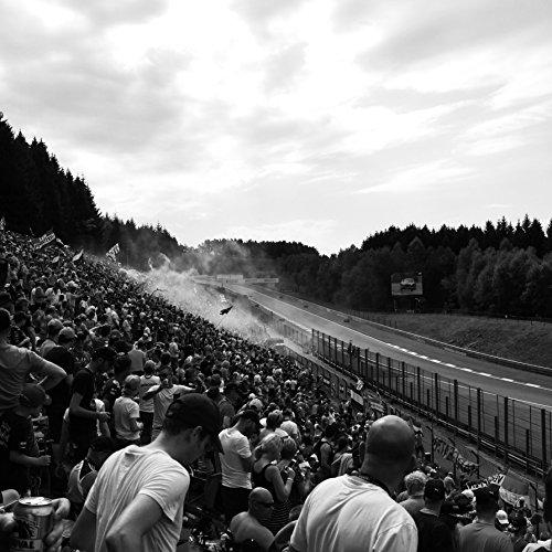 Belgium Print, Belgium Photography, Formula 1 Art, Motorsports Print, Racing Print, Circuit De Spa-Francorchamps, Lewis Hamilton, F1, Square