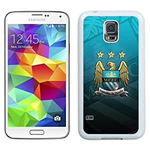 Fashionable Samsung Galaxy S5 I9600 Case ,Unique And Lovely Designed Case With Manchester City 6 White Samsung Galaxy S5 Cover Phone Case