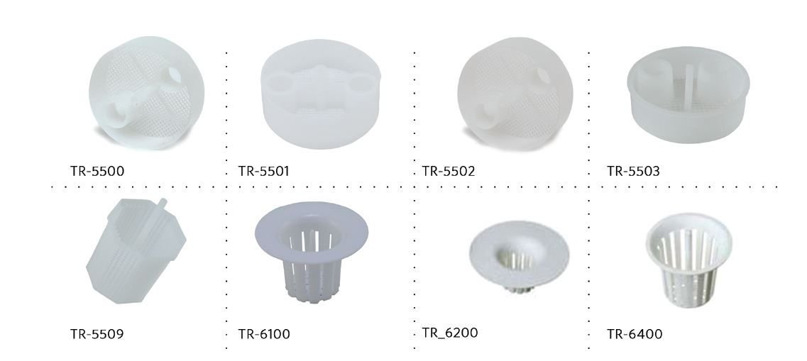 3D Dental 3D-TR-5501 Disposable Trap, 5501, 2-1/8'' (Pack of 144)