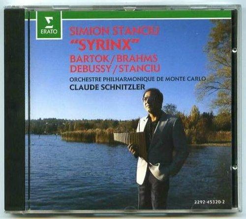 Simion Stanciu Syrinx / Bartok, Brahms, Debussy, Stanciu (Stanciu Simion Syrinx)