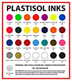 Ecotex Gloss Black Plastisol Ink for Screen