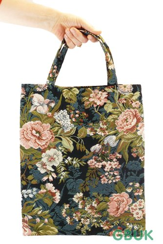 Handy Tapestry in Gobelin Pyjamas Shopping Tote Bag small Style Bear OOr1qZxRwP