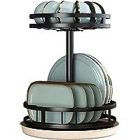 360 ° Rotatie Afdruiprek, Klein Afdruiprek Met Lade Compact Roestvrijstalen 2-laags Afdruiprek Voor Aanrechtkast, Grote…