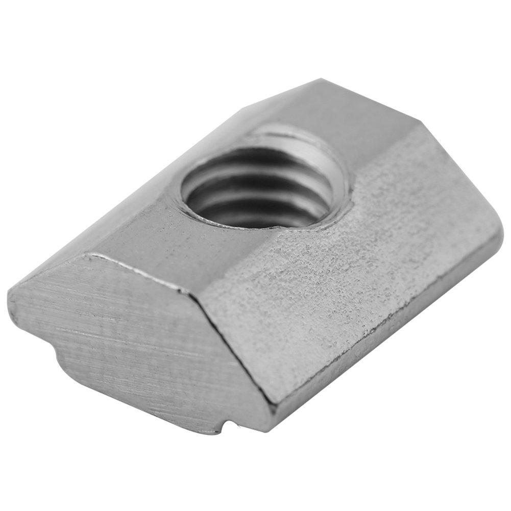 50pcs Europ/äischer Standard Kohlenstoffstahl Schiebe T Nut Mutter f/ür Aluminiumprofil Zubeh/ör 20Typ-M4