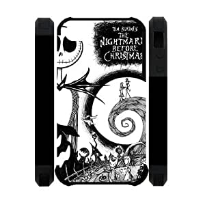The Nightmare Before Christmas Jack Skellington Iphone 4 And 4S Cover Double Protect Case