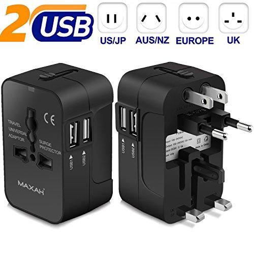 MAXAH Universal Adapter Worldwide Charging