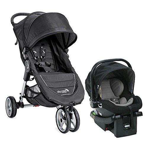 Baby Jogger City Mini Single Travel System - Black/ Gray by Baby Jogger
