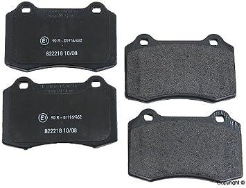 Genuine OE Textar Front//Rear Disc Brake Pads Set 2138102