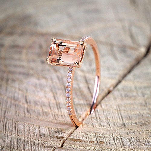 Stacking Matching Personalized Infinity Mothers Ring Engagement Promise Rings for Women by NIKAIRALEY Jewelry (Image #4)