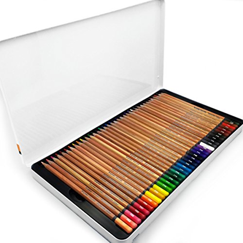 Bruynzeel - Expression Colour Artist Colouring Pencils - Gift Tin of 72 Assorted Colours - 7705M72