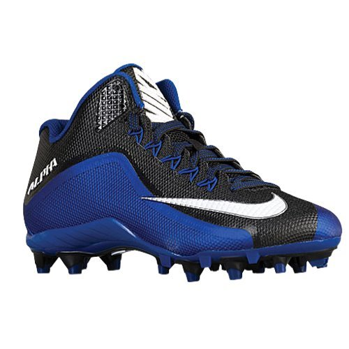 Men's Alpha Strike 3/4 TD Black/Sport Royal/White 11.5 D - Medium