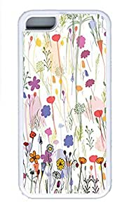 Cases For iPone 5C - Summer Unique Cool Personalized Design A Variety Of Beautiful Flowers