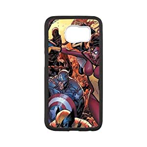 Samsung Galaxy S6 Cell Phone Case Black al50 new avengers art comics illust FXS_647527