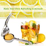 Better Line® Professional Grade Stainless Steel Lemon Squeezer Citrus Juicer - Press Juice From Lemons & Limes, Oranges