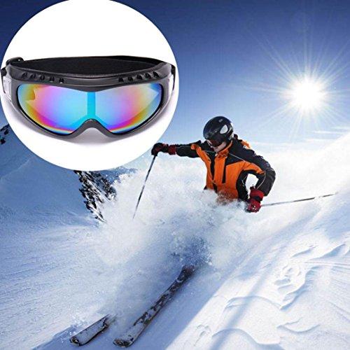 Ski Goggles, WensLTD Unisex Adult Winter Ski Snowboard Goggles With Anti-fog UV Dual Lens - Uv400 Ce