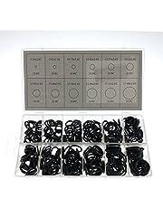 SATKIT Juego 300 juntas toricas de goma 12 tamaños diferentes