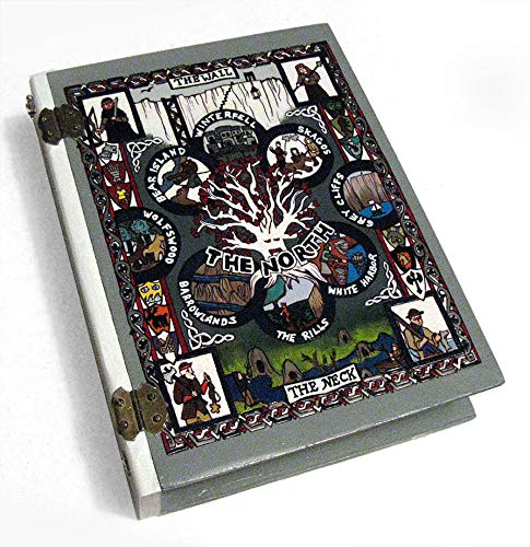 The North Winterfell Game of Thrones- big hideaway book box. One of a kind.