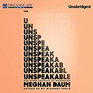 The Unspeakable Audiobook