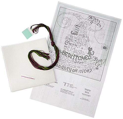 M & R Technologies Let's Be Wicked Counted Cross Stitch Kit ()