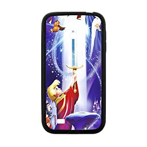 KORSE Sword in the Stone Case Cover For samsung galaxy S4 Case