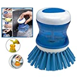 Interesting® Kitchen Tools Wash Dish Bowl Pot Liquid Soap Brush Bottle Detergent Cleaner