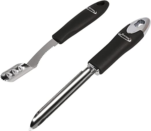 Jalapeno Pepper Corer Stainless Steel Serrated Seed Remover Kitchen Tools /&