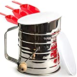 KiTheea.com Flour Sifter Stainless Steel 3 Image