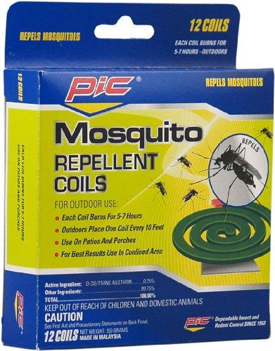 Citronella Repellent Coils (Set of 4) [Set of 3]