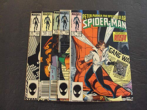 5 Iss Spectacular Spider-Man #101-105 Apr-Aug