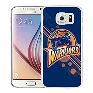 New Custom Design Cover Case For Samsung Galaxy S6 Golden state warriors 12 White Phone Case