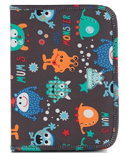 Pirulos 47830620 - Portadocumentos, diseño drops, 25 x 17 x 9 cm, color blanco y gris: Amazon.es: Bebé