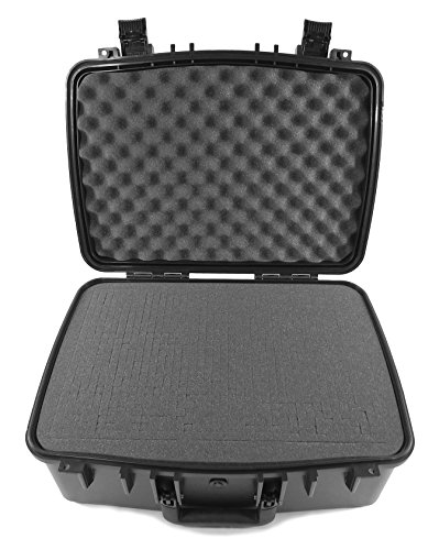 WORKFORCE XL Professional Travel Projector Hard Case With Customizable Foam and Carry Handle -Fits Select Optoma Projectors Models - EH416 , EH504 , EH319UST , EH319USTi , W319UST , W320UST by CASEMATIX