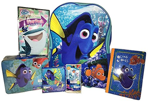 Finding Dory Bundle Back To School Backpack Fun and Gift Set