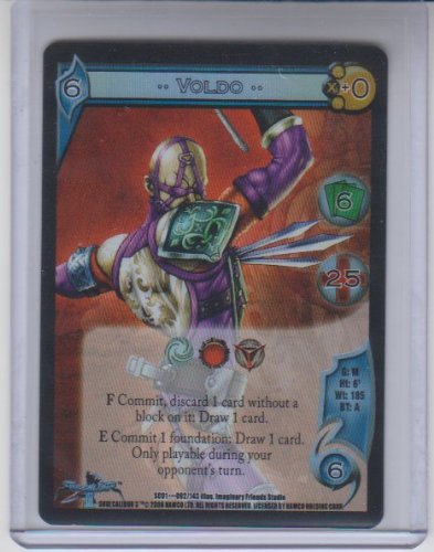 (UFS: Universal Fighting System Voldo Foil Rare #92)