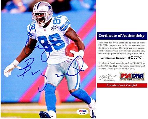 Dez Bryant Signed - Autographed Dallas Cowboys 8x10 inch Photo - PSA/DNA Certificate of Authenticity (COA)