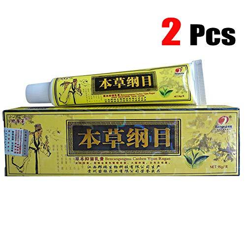 Psoriasis Creams Dermatitis and Eczema Pruritus Psoriasis CEZUBEM Ointment 2pcs/Lot High Quality Chinese Herbal Eczema - (15gm Each)