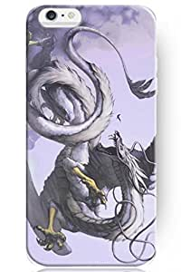 SPRAWL New Vintage Design Personalized Hard Plastic Snap on Slim Fit Iphone 6 Case 4.7 Inch Dragon Fighting
