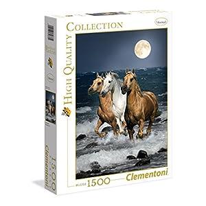 Clementoni Cavalli In Corsa High Quality Collection Puzzle Multicolore 1500 Pezzi 31676