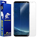 Image of Armorsuit - Galaxy S8 Screen Protector [Full Coverage] MilitaryShield For Samsung Galaxy S8 Lifetime Replacement Anti-Bubble HD Clear