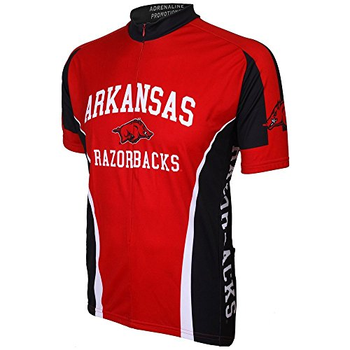 (NCAA Arkansas Cycling Jersey,Small by Adrenaline Promotions)