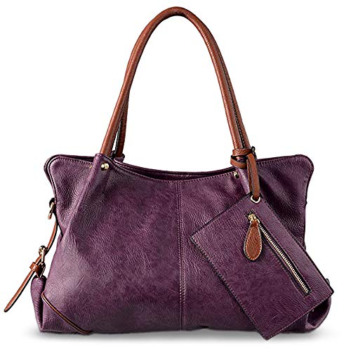 Purple Hobo Handbag - 3