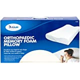 Quiet Night  Contour Memory Foam Pillow With Terry Cover