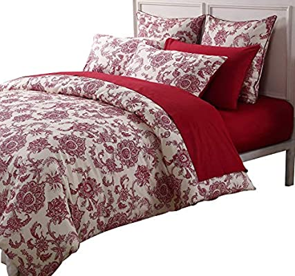 Diligent Red Pink Oriental Wedding Duvet Cover Set Sain Cotton Lace Embroidery Bedding Set Queen King Size Bed Spread Sheet Set Gifts Home Textile Bedding