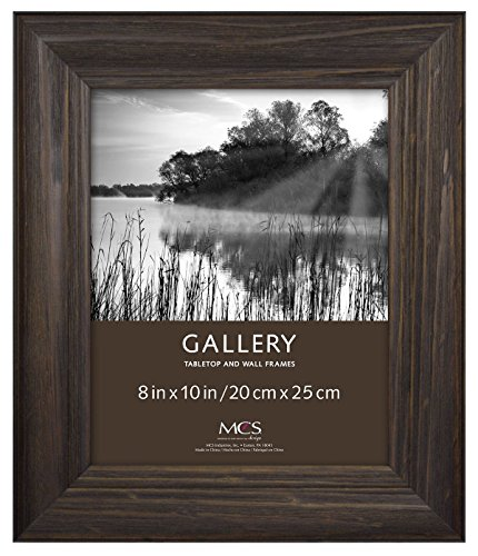 MCS 8x10 Inch Wide Wood Frame with Burnt Oak Finish