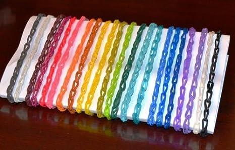 Rainbow Loom Recharge /élastiques Bleu Oc/éan Jelly