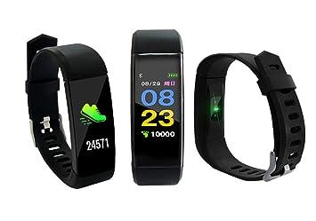 PRIXTON AT801 - Smartband Pantalla a Color con Pulsómetro: Amazon.es: Electrónica