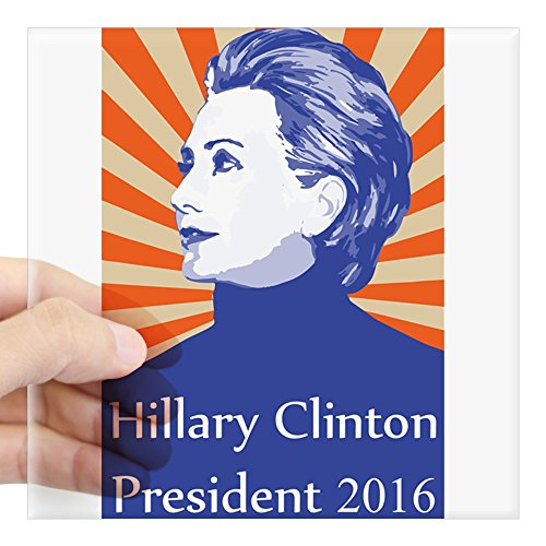CafePress Hillary Clinton President Sticker